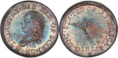 1792 Half Dime.  We love coins at Renaissance Fine Jewelry in Vermont or at www.vermontjewel.com. Contact us at sales@vermontjewel.com. Please support and be a member of the American Numismatic Association.