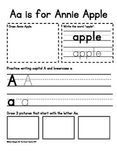 I created this alphabet book to use as I go through the Fast Track with my students. There is a spot to draw the character, write a word (the first half have dotted lines to trace, the second half just have a dotted line to write on), write the capital and lowercase letter, and draw three pictures that start with the letter.