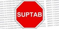 PUP.SupTab est un programme publicitaire qui est conçu par les cybercriminels afin de faire de graves dommages sur l'ordinateur.