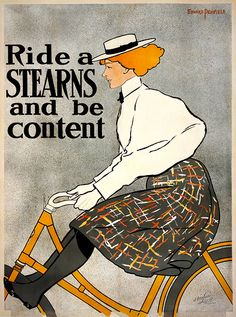 Poster by Edward Penfield.