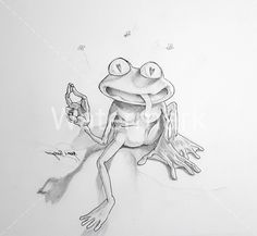 Frog: artist Jaime Rayon