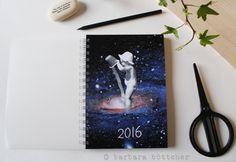 A5 Jahresplanner - Terminkalender 2016 von busy bee auf DaWanda.com