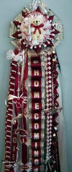 Lewisville High School Homecoming Mum
