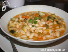 Alubias con verduras | Cocina Con Gusto