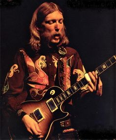 Duane Allman - taken on June 27, 1971 closing nite at the Fillmore East, located at 6th St. and 2nd Av in NYC...