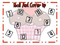 Valentine Roll and Cover up game