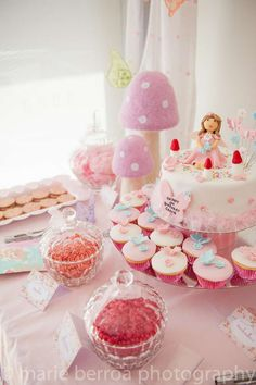 Fairy princess Birthday Party Ideas!  See more party ideas at CatchMyParty.com!