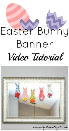 Easter Bunny Banner
