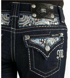 Dark miss me jeans
