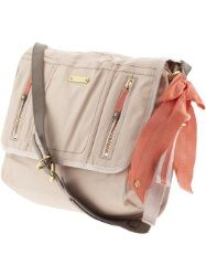 Wanderlust Esther Coated Twill Messenger Crossbody bag