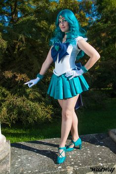 Character: Sailor Super S Neptune Photograph: Wild Wolf placearis, October 2011. One of my favourites pic of this costume!!