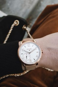 The Q Tailor is the stylish hybrid smartwatch you've been dreaming of. via @ prettylittlefawn