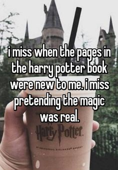 """I sometimes wish I could get a mild case of amnesia and reread the Harry Potter series again."" All confessions courtesy of Whisper."