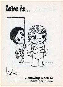 Love is comics by Kim