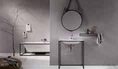 15 Idees Pour Realiser Une Salle De Bain Chic Minimaliste Et Eclectique En Noir Blanc
