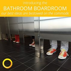 Because you know where you think best  Coming at 11:30 today! #bathroomboardroom #inspirationseries #truth