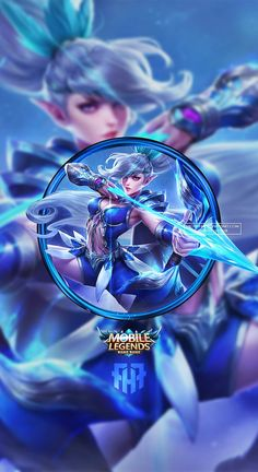 Wallpaper Phone Miya Moonlight Archer By Fachrifhr Mobile Legends Collections Mobile Legends Bruno Mobile Legends, Miya Mobile Legends, Mobile Legend Wallpaper, Hero Wallpaper, Bang Bang, Alucard Mobile Legends, Moba Legends, Champions League Of Legends, Legend Images
