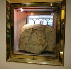"""The London Stone. Popular legends include the Stone being the remains of an ancient stone circle that is alleged to have stood on Ludgate Hill, & even the stone from which Arthur withdrew the legendary Sword in the Stone. The earliest reference to the Stone is in a book belonging to Æthelstan, King of England in the early 10th century. In the book, some places are said to be """"near unto London stone"""". It was already a landmark in 1198 when it was referred to on maps as Lonenstane or Londenstane."""