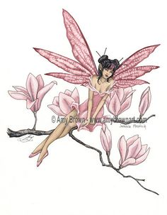 SALE Flower Fairy 8.5x11 PRINT SET by Amy Brown by AmyBrownArt