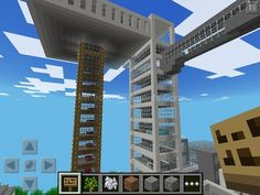 cool minecraft parkour on pocket edition map