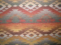 EXCEPTIONAL BRUNSCHWIG Fabric / WESTERN / NATIVE / SOUTHWEST / CABIN -100% Wool