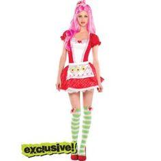 Strawberry Shortcake Costume Adult 15