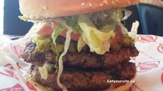 Kingburger Supreme - 2 massive patties, cheese and the works. Food Items, Supreme, Hamburger, Restaurants, Tasty, Cheese, Ethnic Recipes, Restaurant, Burgers