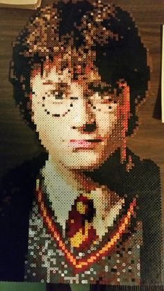 Harry Potter perler beads