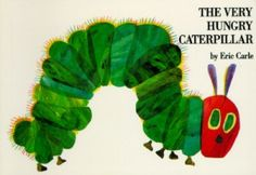 The Very Hungry Caterpillar by Eric Carle - School Library Journal - We read this book in English and we have the German version.