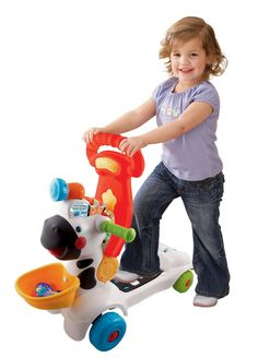 The Vtech – 3-in-1 learning zebra scooter is new exciting and interactive toy that is also educational for your child.