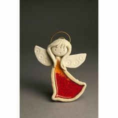 Paper Clay, Clay Art, Christmas Clay, Christmas Crafts, Clay Projects, Clay Crafts, Pottery Angels, Ceramic Workshop, Ceramic Angels