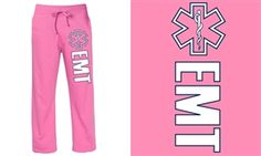 EMT Pink Duty Sweatpants