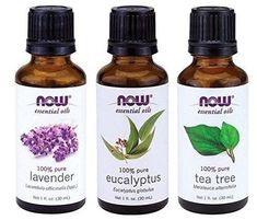 of NOW Essential Oils Eucalyptus lavender and tea tree essential oils pure Eucalyptus oil may help treat ailments such as fever or cough Lavender oil has calming properties and may help . Essential Oil For Sunburn, Essential Oil Deodorant, Now Essential Oils, Essential Oil Starter Kit, Lemongrass Essential Oil, Tea Tree Essential Oil, Pure Essential, Eucalyptus Tea, Lavender Tea