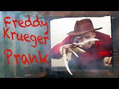 Freddy Krueger In Real Life Halloween Prank - YouTube