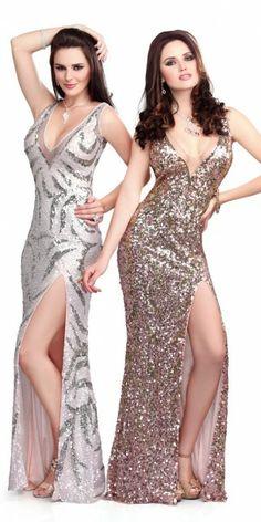 Primavera Couture 9705 Sequined Evening Dress