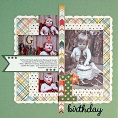 Layout: 1st Birthday