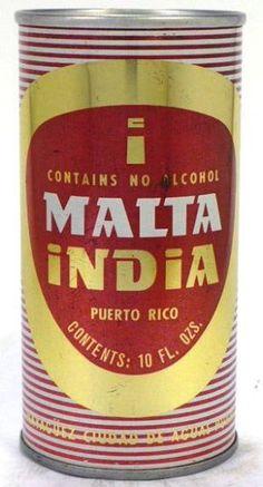 Malta India, Malta de Puerto Rico, Refrescos de Puerto Rico