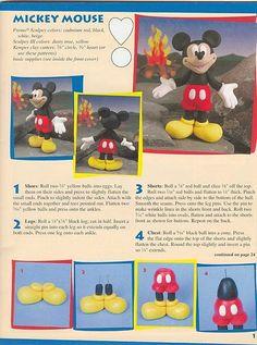 Mickey, Minnie, Donald, Pluto & Goofy all in English tutorials