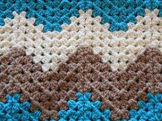 Crochet Baby Blanket or Lap Blanket by stickshooksandyarn on Etsy, $40.00