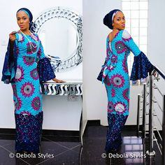 Creative And Unique Ankara Styles For Beautiful Ladies - DeZango Fashion Zone