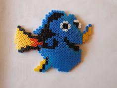 Fuse Beads, Perler Beads, Diy And Crafts, Crafts For Kids, Dory, Beading Patterns, Cross Stitch, Kindergarten, Kandi