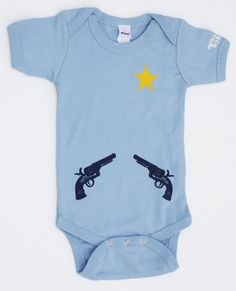 Sheriff Onesie by shopurbanbabyco on Etsy, $19.00