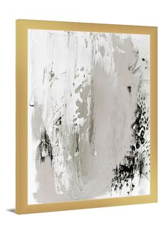 Black Truffle grey abstract canvas art by Lindsay Letters.