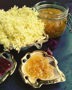 Elderflower jam Elderflower, Caviar, Fish, Meat, Ethnic Recipes, Pisces
