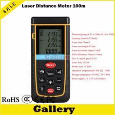93.00$  Buy now - http://alislb.worldwells.pw/go.php?t=32347611472 - digital laser rangefinder 100m 328ft with Bubble Level Tool RZ100 measure Tape for Area/Volume M/in/Ft Rangefind Range finder