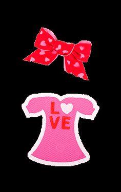 Valentine Snap Doll
