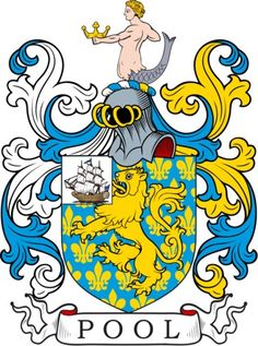 Pool Family Crest and Coat of Arms