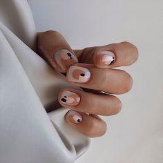 Cute Acrylic Nails, Cute Nails, Pretty Nails, Mode Inspiration, Nails Inspiration, Hair And Nails, My Nails, Nagellack Trends, Minimalist Nails