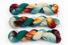 shoreditch hand dyed yarn sock yarn fingering by KnitCosmicStrings (scheduled via http://www.tailwindapp.com?utm_source=pinterest&utm_medium=twpin)