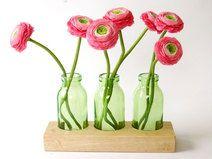 Blumenvase - Milchkanne *3* grün